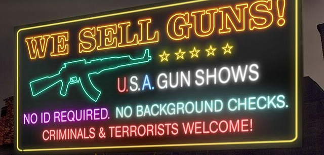 gun sales sign